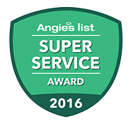 Angie's List Super Service 2011, 2012, 2013, 2014, 2015, 2016